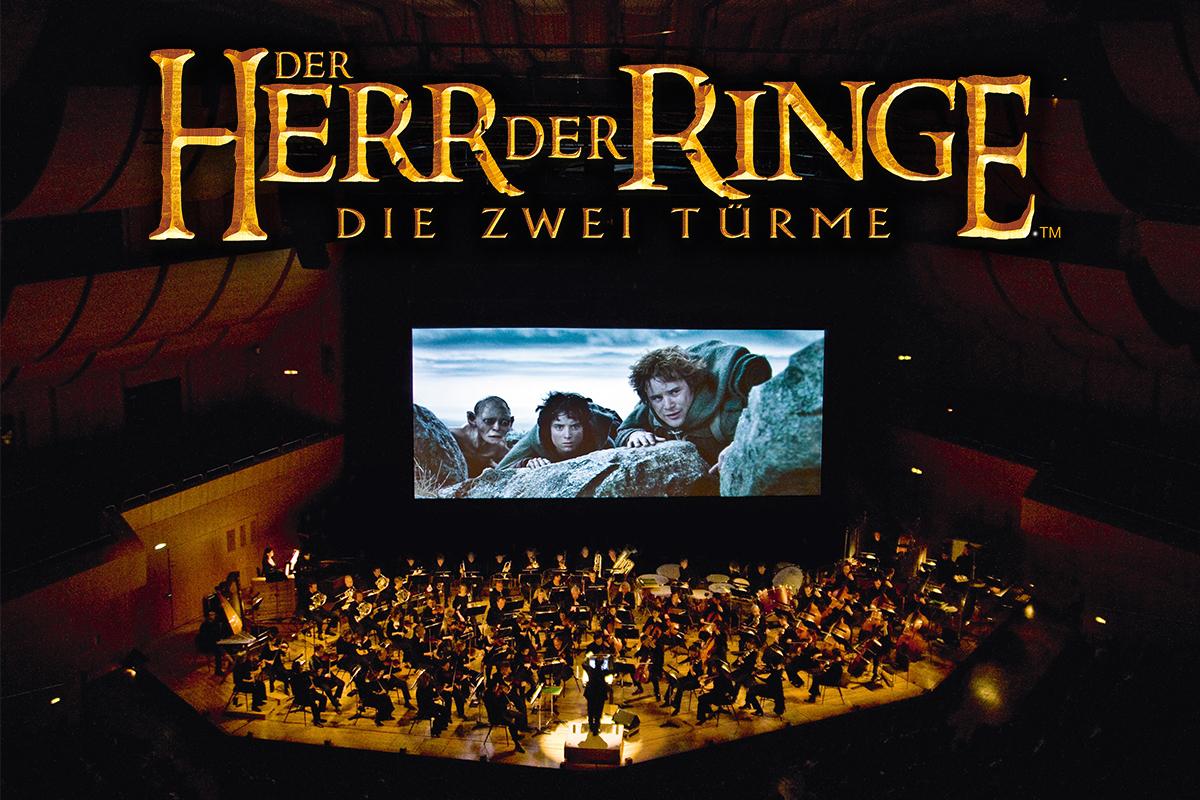 Der Herr der Ringe: Die zwei Türme - Der zweite Teil des Fantasy-Epos als Originalfassung mit großem Orchester