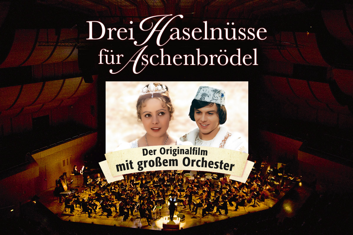 Drei Haselnüsse für Aschenbrödel - Der Märchenklassiker in strahlendem Kinoformat und mit großem Orchester