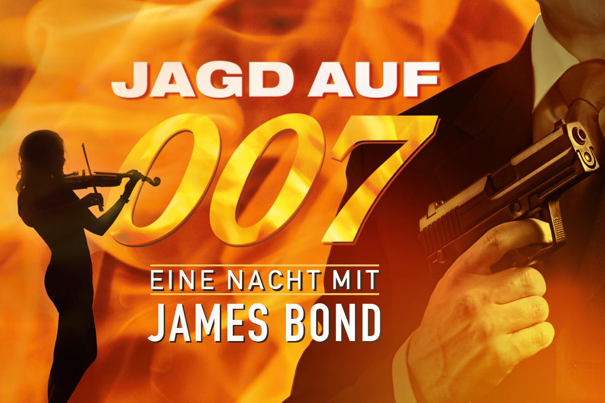 Eine Nacht mit James Bond – Jagd auf 007 - Schöne Frauen, schnelle Autos, atemberaubende Stunts und Verfolgungsjagden.