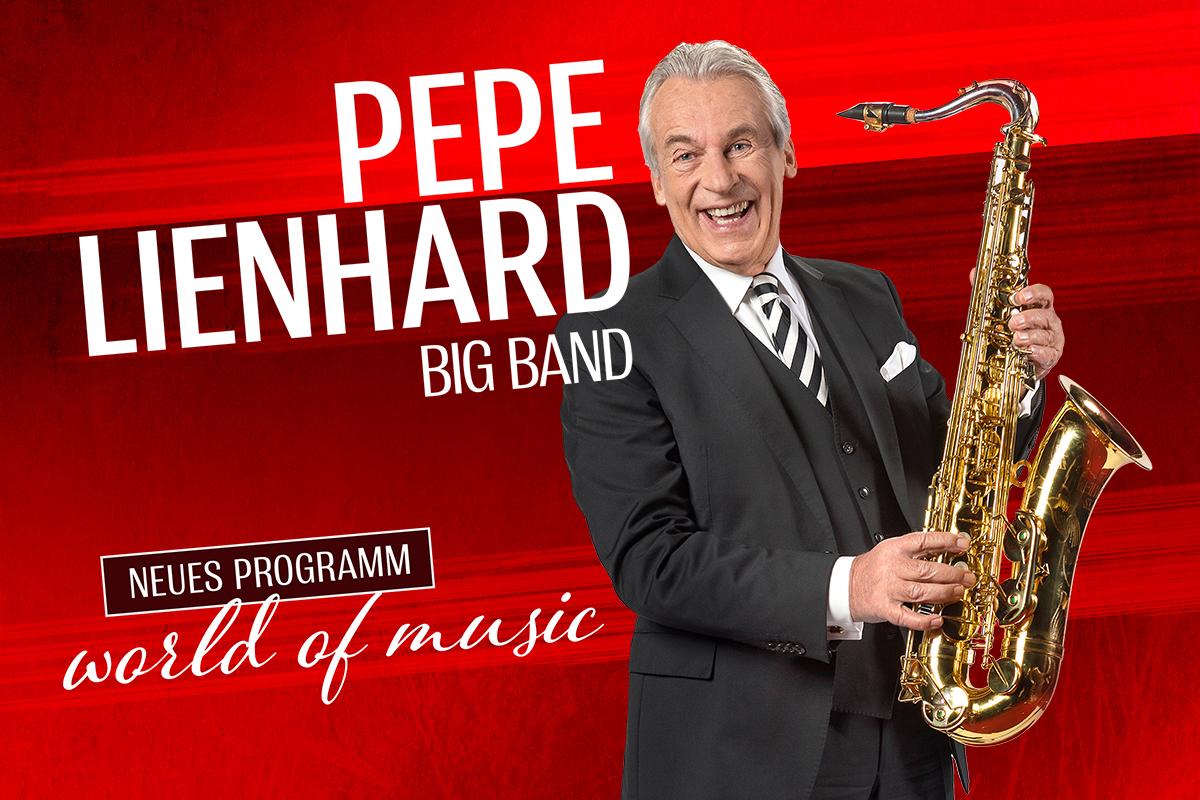 Pepe Lienhard - Zurück mit neuem Programm World of Music