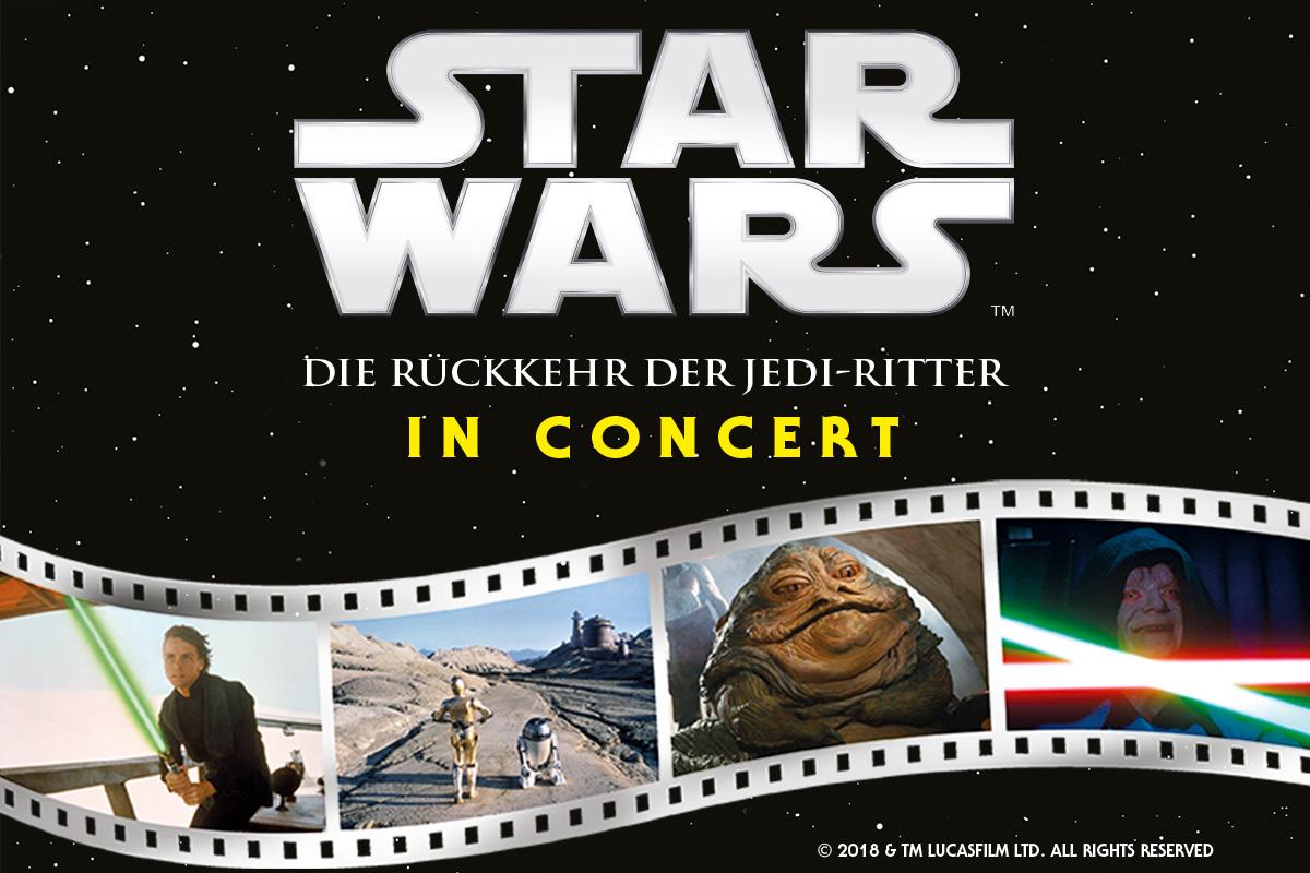 STAR WARS in Concert: Die Rückkehr der Jedi-Ritter - Der komplette Film mit Live-Orchester