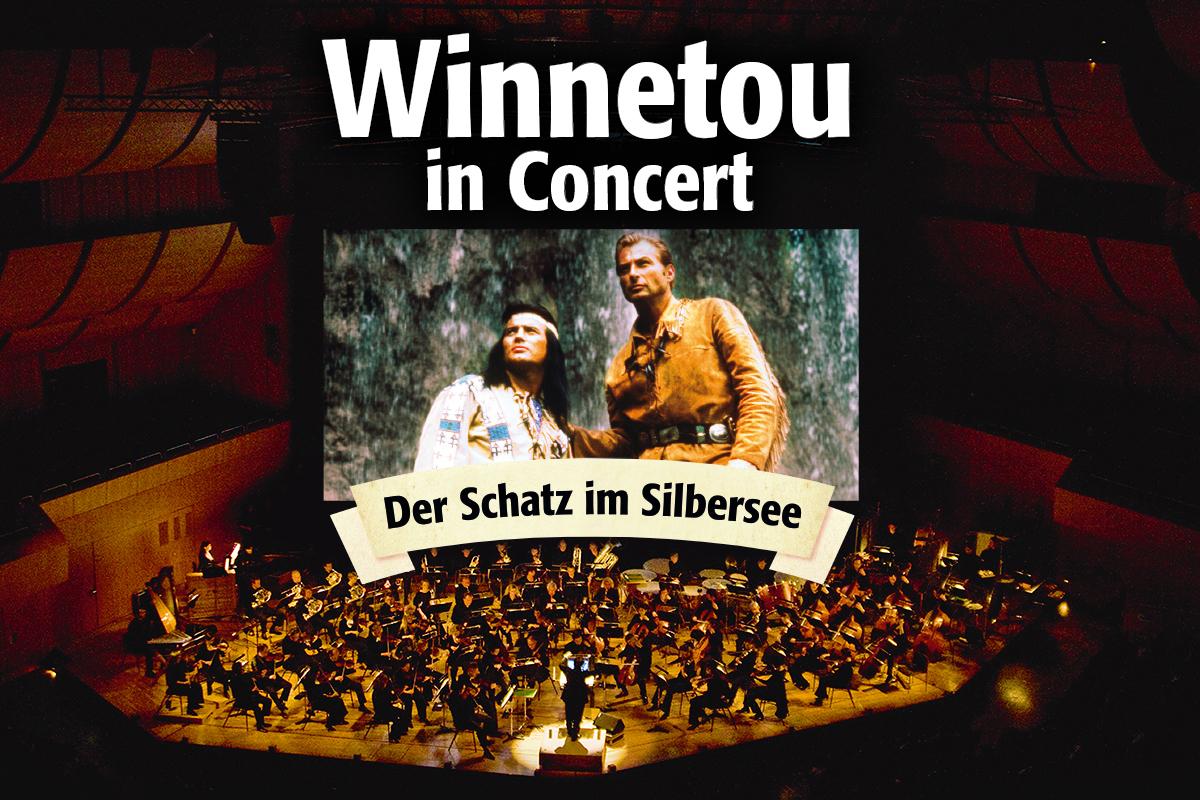 Winnetou in Concert: Der Schatz im Silbersee - Der komplette Film mit Live-Orchester