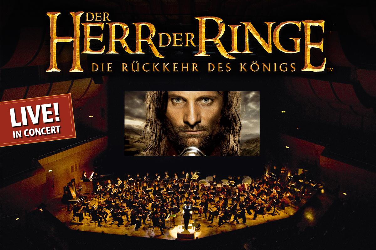 Der Herr der Ringe: Die Rückkehr des Königs - Der dritte Teil des Fantasy-Epos in Originalfassung mit großem Orchester