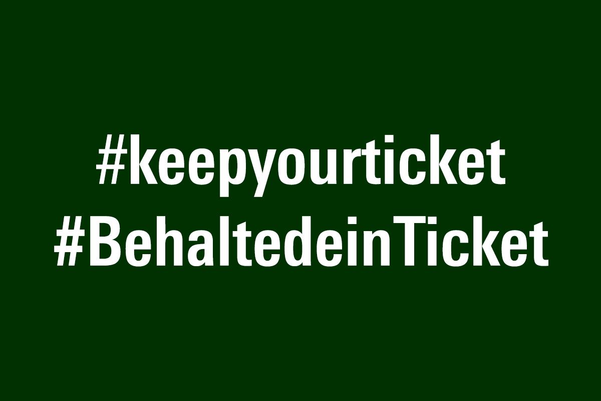 #keepyourticket -