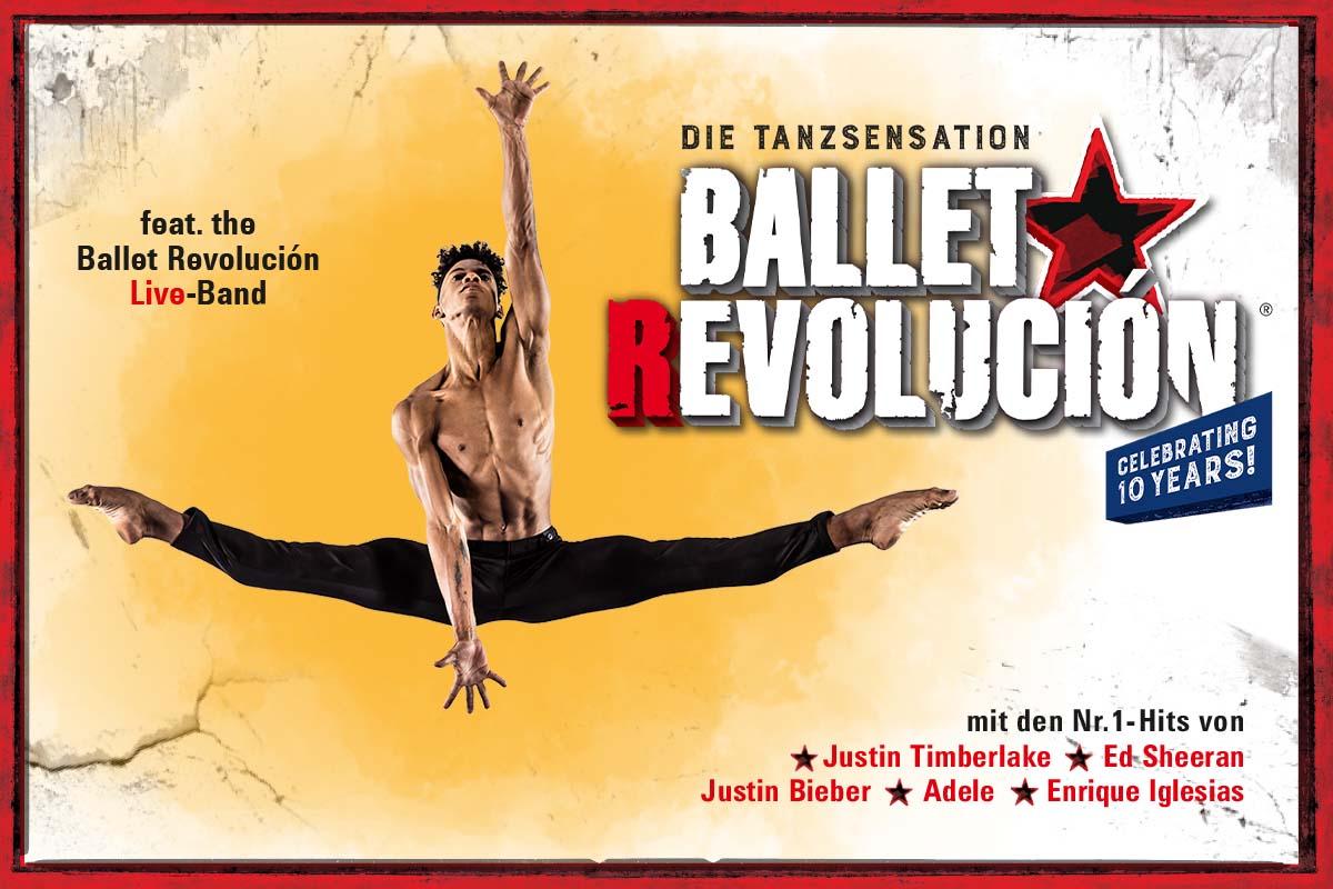 Ballet Revolución - Mit neuer Show zurück in Deutschland, Österreich und der Schweiz!
